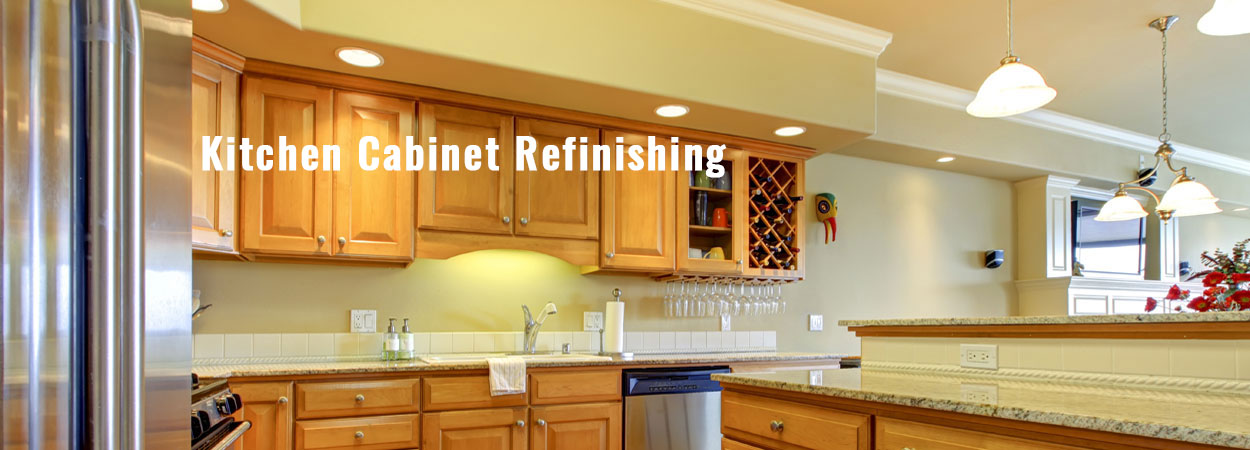 Kitchen Cabinet Refinishing California | ColorBlast Painting