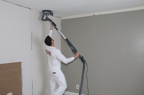 Tips on painting ceilings and popcorn ceiling removal for Tips for painting ceiling